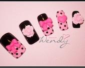 Lolita Style Kawaii Nails