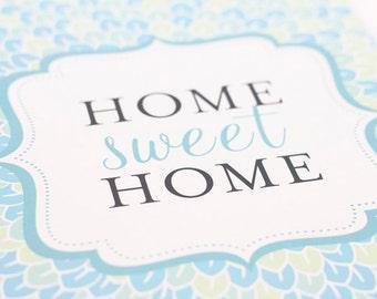 Home Sweet Home Wall Art home sweet home art | etsy