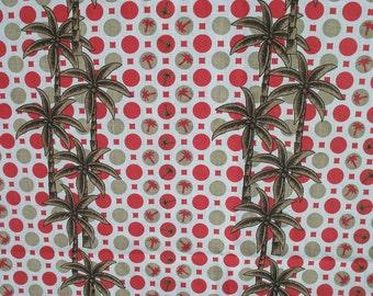 Fabric Carolina Palms Decorator Tract 2 Plus Yards 58 WIDE