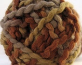 Organic Cotton Yarn Lion Brand Nature's Choice Mocha, Variegated Earth Tone
