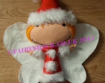 Holly - Fairy Christmas - a Fairy Shack Felt Fairy