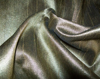 One  yard  light green dupioni silk blend