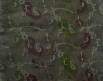 Silk Sari scrap fabric