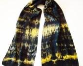 Hand Dyed Silk Scarf - 009