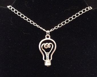 Illumination Necklace - Steampunk, Physics, Gorgeous Geekery