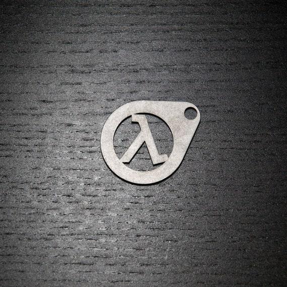 Half Life Lambda Keychain by TheKeychainGuy on Etsy