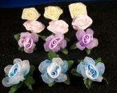 Ribbon Rose (Med)  Set of 12 Assortment