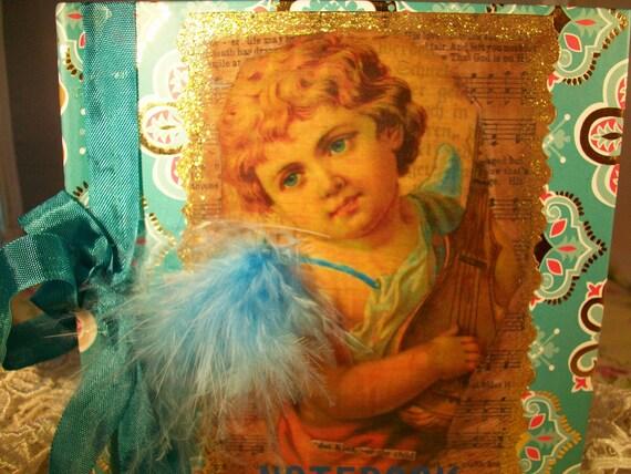 Victorian Angel Notebook
