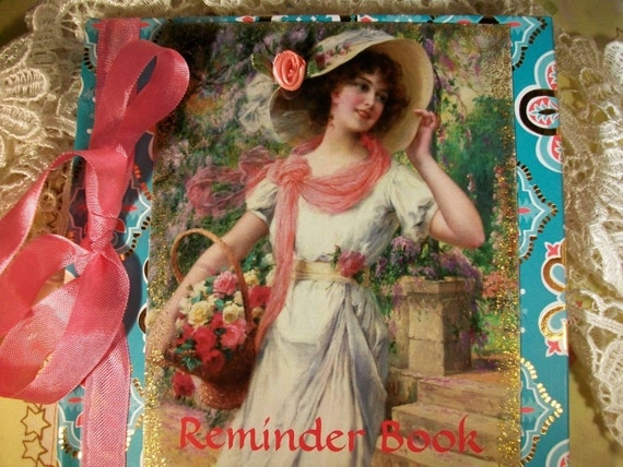 The French Rose Reminder Book