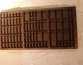 Vintage Printer Press Tray for Letters