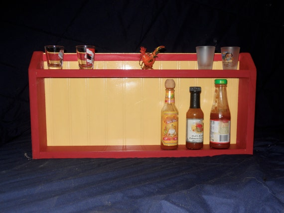 Horizontal Hot Sauce Rack