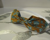 Color Print-Bow Headband
