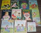 LITTLE GOLDEN BOOKS - Vintage Children's Book Collection of 13 Golden Books