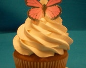Edible Wafer Paper Butterflies Pink - Decorate Cupcakes, Cakes, Cookies,  - Birthday,  Wedding, Showers, Wafer Paper