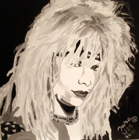 Vince Neil 80s Glam Shot