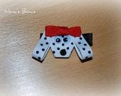 dalmation dog bow