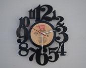 Vinyl Record Album Wall Clock (artist is Player)