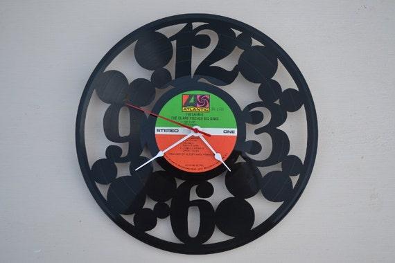 Vinyl Record Album Wall Clock (artist is The Clare Fischer Big Band)