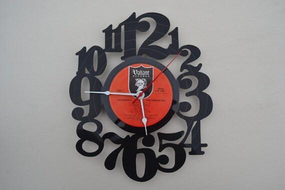 vinyl record clock (artist is The Association)