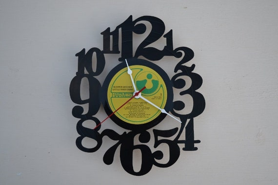 Vinyl Record Album Wall Clock (artist is Little River Band)