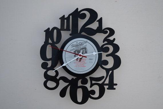 Vinyl Record Album Wall Clock (artist is Bob Seger)