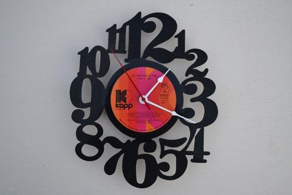 Vinyl Record Album Wall Clock (artist is Cher)