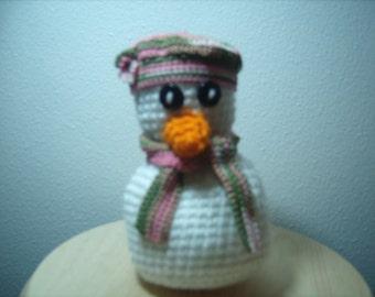 Flora the Snowman