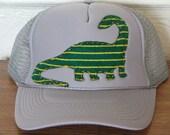 dinosaur trucker cap