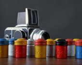 Vintage Antique Kodak 35mm Film Canisters - Various Colors & Amounts Available