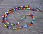 Summer Joy multicolor beaded necklace