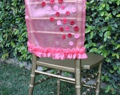 SALE Chair Cover Decoration -For Birthday, Bridal Shower or wedding