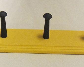 Coat Rack Shaker Peg  Rail Shaker Bar 5 Shaker Pegs