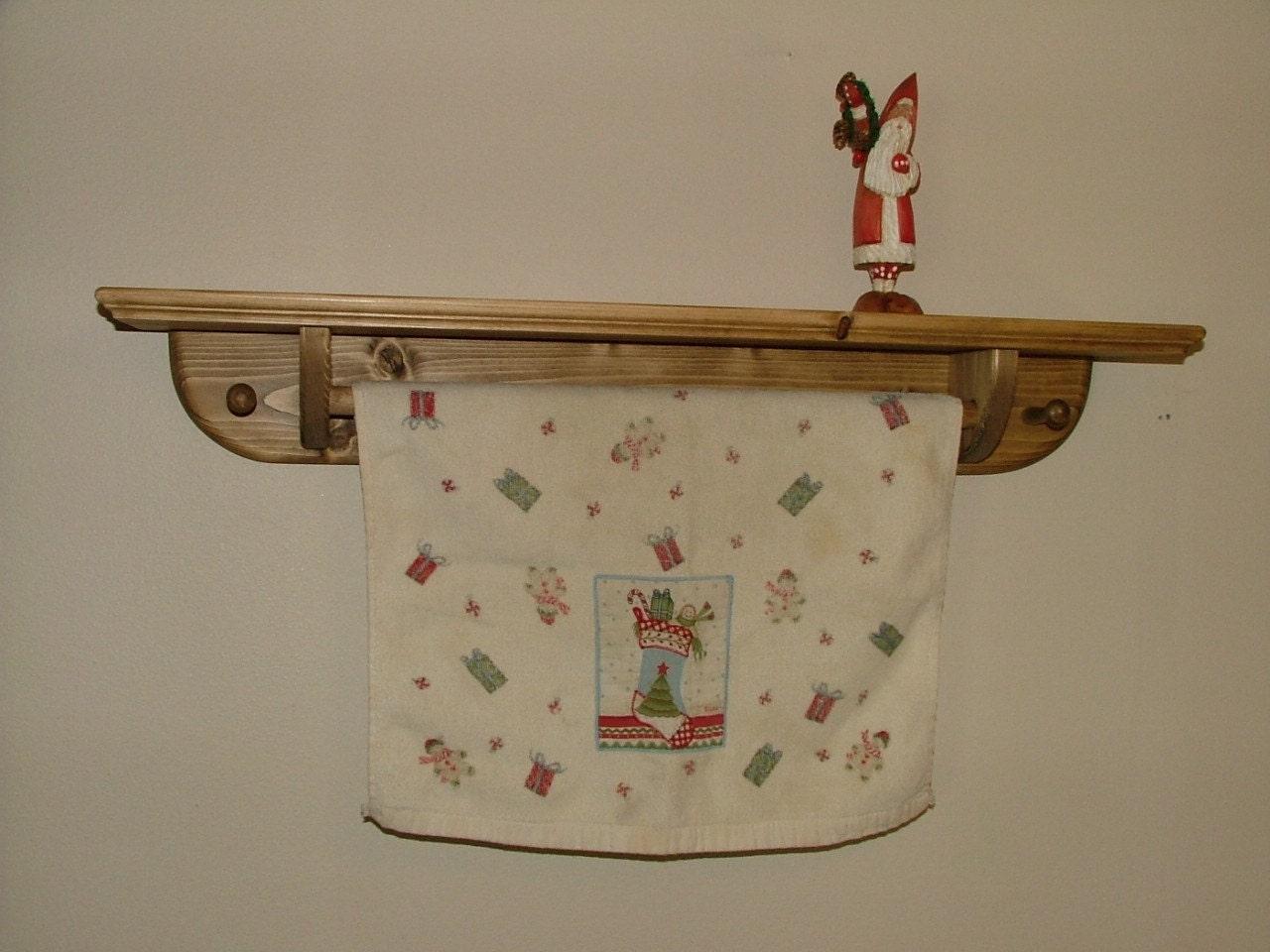 quilt towel bar shelf quilt hanging shelf country amish. Black Bedroom Furniture Sets. Home Design Ideas