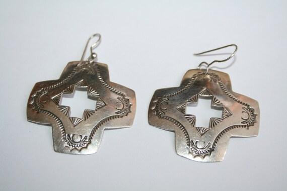 Vintage Joan Slifka Southwestern  Earrings
