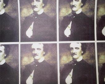 Edgar Allan Poe Wrapping Paper