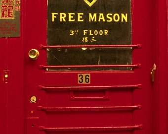 SF Chinatown Door