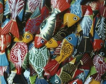 lacquered souvenir fish