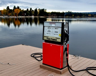 Gas Pump on Dock