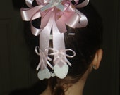 Ballet Hair Bow with legs