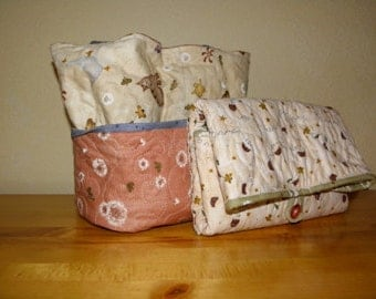 Diaper Tote and Changing Pad Combo