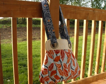 Brightly colored Purse or Tote Bag