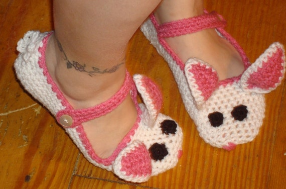 Slipper Bunny Womens
