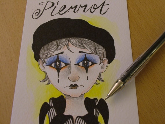 Pierrot the clown