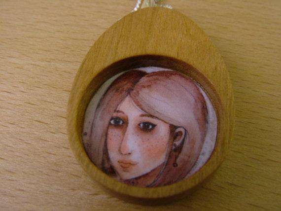 Hannah fair maiden pendant