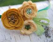 Hera felt flower headband