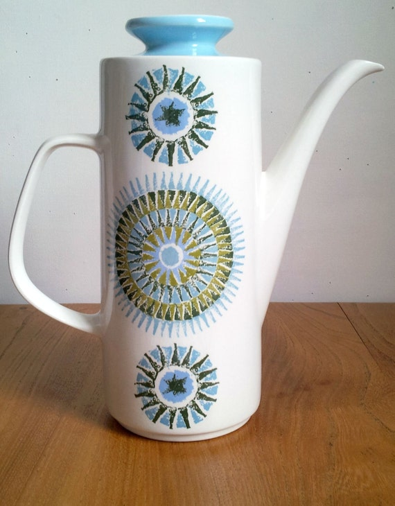 J&G Meakin Studio 1965  Aztec Coffee Pot