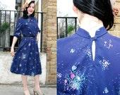 LADY ANE vintage 70s dress