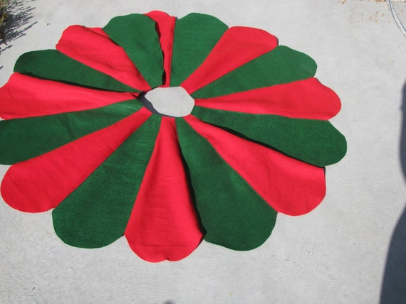 Scalloped Tree Skirt Custom Colors Available