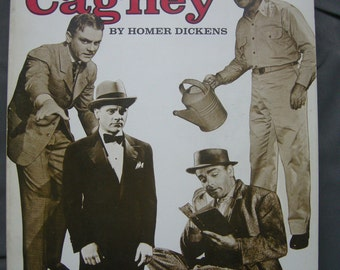 Vintage JAMES CAGNEY book - 'The Films of James Cagney'