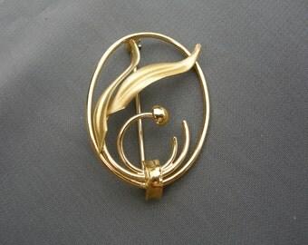Beautiful vintage 12K GF pin/brooch